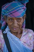 Khasi woman<br /> Meghalaya,  ne India