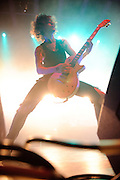 Photos of the British metalcore band Asking Alexandria performing live at the Pageant in St. Louis on March 14, 2011.