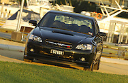 "MY06 Subaru STi GT Liberty ""Tuned by STi"" - Obsideon Black.Shot on location in Port Melbourne.7th October 2006.(C) Joel Strickland Photographics.Use information: This image is intended for Editorial use only (e.g. news or commentary, print or electronic). Any commercial or promotional use requires additional clearance."