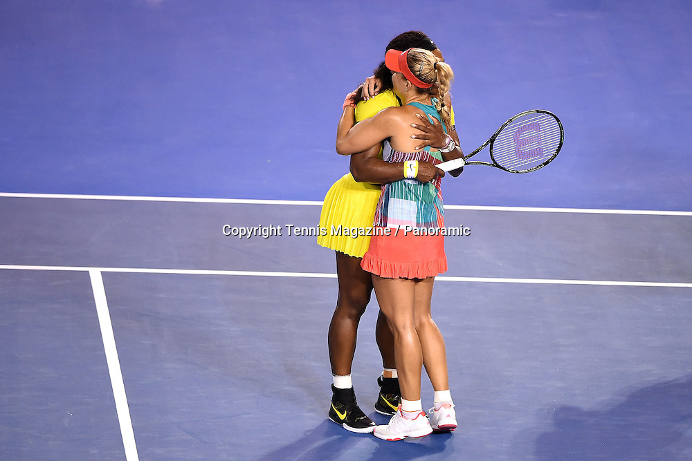 Serena Williams (USA)<br /> Angelique Kerber (GER)