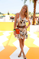 JODIE KIDD at the Veuve Clicquot Gold Cup, Cowdray Park, Midhurst, West Sussex on 21st July 2013.
