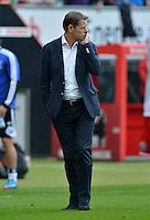 FUSSBALL   1. BUNDESLIGA   SAISON 2012/2013   2. Spieltag SV Werder Bremen - Hamburger SV                     01.09.2012         Frank Arnesen (Hamburger SV) ist nach dem Abpfiff enttaeuscht