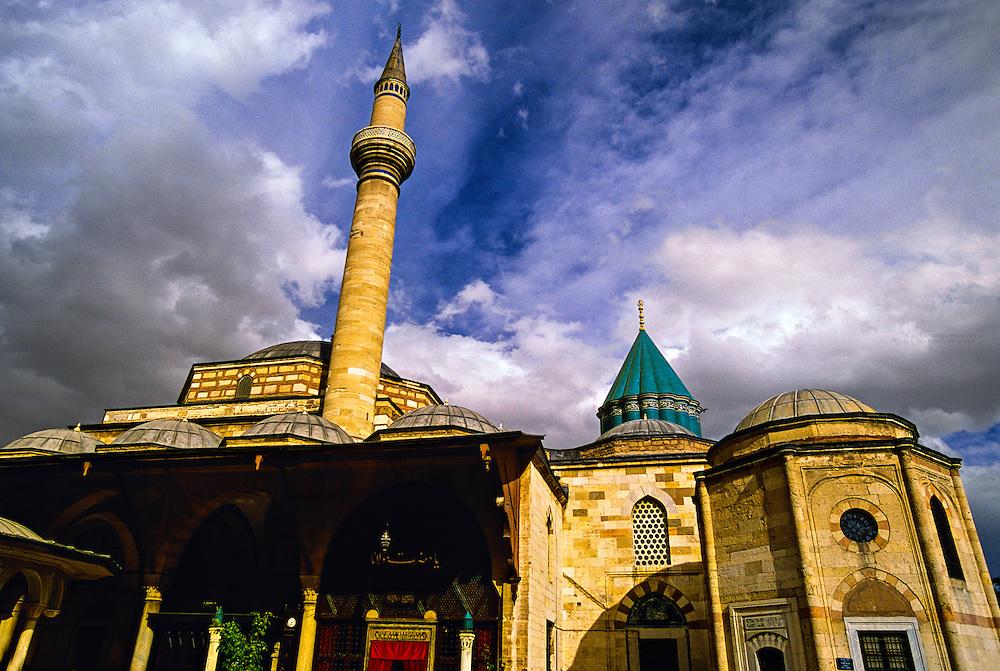 Mevlana Museum and Tomb of Mevalana Celaleddin, Konya, Turkey
