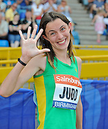 Picture by Alan Stanford/Focus Images Ltd +44 7915 056117<br /> 12/07/2013<br /> Jessica Judd 800m pictured during day two of Sainsbury's British Championship at Alexander Stadium, Birmingham.