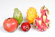 Composition of exotic fruits