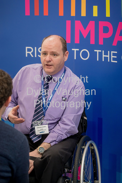 1-6-17<br />  <br /> Stephen Barry Cork pictured at the IMPACT Health and Welfare Division Conference in Wexford.<br /> Picture Dylan Vaughan.