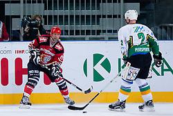 Bojan Brun and Bojan Zajc during ice-hockey friendly match between legends of HDD Tilia Olimpija and HK Acroni Jesenice, on April 14, 2012 at SRC Stozice, Ljubljana, Slovenia. (Photo By Matic Klansek Velej / Sportida.com)