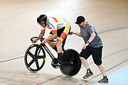 Eddie Dawkins during the 2019 Vantage Elite and U19 Track Cycling National Championships at the Avantidrome in Cambridge, New Zealand on Friday, 08 February 2019. ( Mandatory Photo Credit: Dianne Manson )