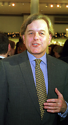 LORD PATTEN  at a party in London on 25th November 1999.MZK 33