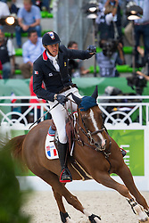 Kevin Staut, (FRA), Reveur De Hurtebise HDC - World Champions, - Second Round Team Competition - Alltech FEI World Equestrian Games™ 2014 - Normandy, France.<br /> © Hippo Foto Team - Leanjo De Koster<br /> 25/06/14