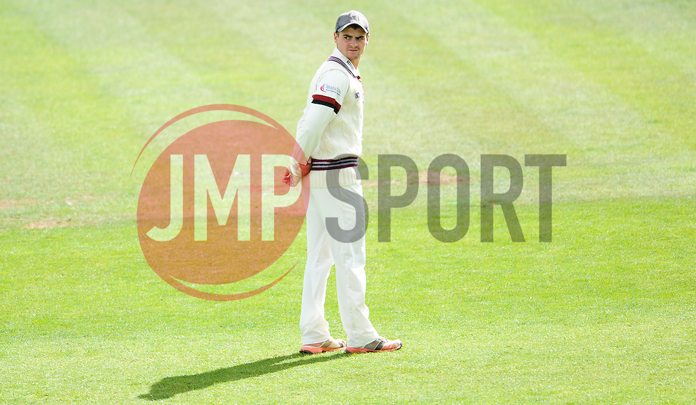 Somerset Academy player Sam Underdown looks on.  - Mandatory byline: Alex Davidson/JMP - 07966386802 - 12/09/2015 - CRICKET - The County Ground -Taunton,England - Somerset CCC v Hampshire CCC - Day 4