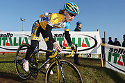 ITALY / ITALIE / ROME / CYCLING / WIELRENNEN / CYCLISME / CYCLOCROSS / CYCLO-CROSS / VELDRIJDEN / WERELDBEKER / WORLD CUP / COUPE DU MONDE / TRAINING / IPPODROMO CAPANNELLE / AMY DOMBROSKI (USA) /