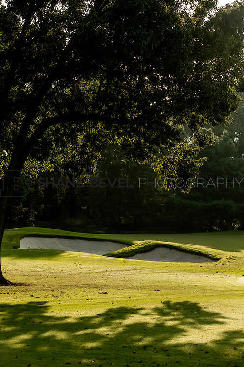 9/25/17 8:53:27 AM -- Bunkers and greens on Cedar Ridge Country Club for Jonesplan. <br /> <br /> Photo by Shane Bevel