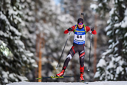 March 9, 2019 - –Stersund, Sweden - 190309 Aleksandrs Patrijuks of Latvia competes in the Men's 10 KM sprint during the IBU World Championships Biathlon on March 9, 2019 in Östersund..Photo: Petter Arvidson / BILDBYRÃ…N / kod PA / 92252 (Credit Image: © Petter Arvidson/Bildbyran via ZUMA Press)