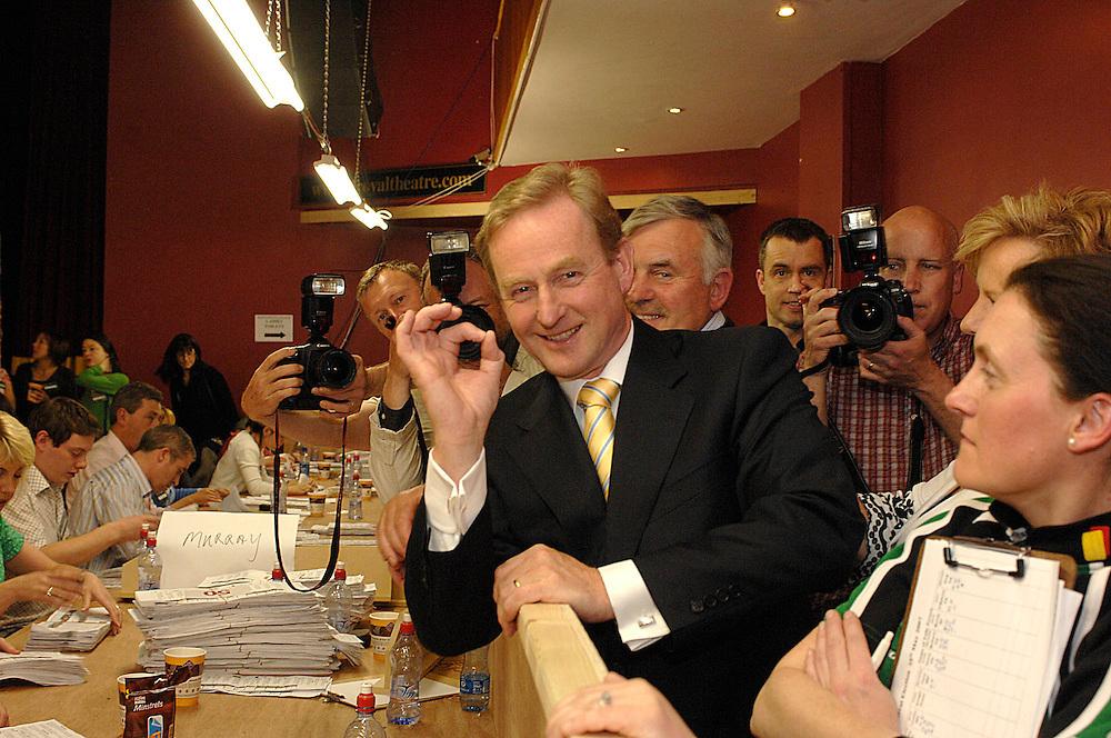 A OK Enda Kenny at the Mayo Count Centre, TF Royal Castlebar. Pic: Michael Mc Laaughlin