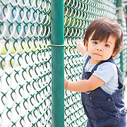 Baby Sal at the playground