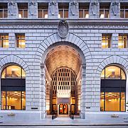 Jone Lang LaSalle- 225 Bush Street Lobby & Exterior