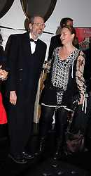 ROBERT CRUMB and STELLA MCCARTNEY at 'A Night at Crumbland' an evening to celebrate the launch of the Stella McCartnry and Robert Crumb collaboration aand the publication of the R.Crumb handbook, held at Stella McCartney, 30 Bruton Street, London W1 on 17th March 2005.<br /><br />NON EXCLUSIVE - WORLD RIGHTS