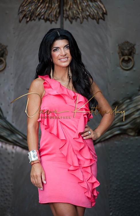 TOWACO, NJ - AUGUST 18:  Teresa Giudice poses at a private residence on August 18, 2011 in Towaco, New Jersey.  (Photo by Dave Kotinsky/Getty Images)