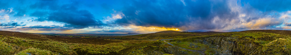 This is a shot I got from the last stop on my Sperrin Mountains trip at the start of November - Glenshane Pass.<br />