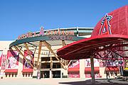 Angel Stadium of Anaheim Front Entrance