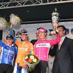 Ladiestour 2006 Heerlen<br />Suzanne Ljungskog wins 2006 edition 2nd Trixi Worrack and 3th Judith Arndt