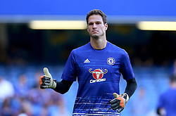 Asmir Begovic of Chelsea gives a thumbs up - Mandatory by-line: Robbie Stephenson/JMP - 15/08/2016 - FOOTBALL - Stamford Bridge - London, England - Chelsea v West Ham United - Premier League