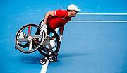 Stephane Houdet, wheelchair, 27 January 2016, Rod Laver Arena - Luke Hemer/Tennis Australia