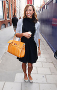 18.SEPTEMBER.2012. LONDON<br /> <br /> JESSICA ENNIS ARRIVING A CLARIDGES HOTEL IN MAYFAIR FOR A LWF SHOW.<br /> <br /> BYLINE: EDBIMAGEARCHIVE.CO.UK<br /> <br /> *THIS IMAGE IS STRICTLY FOR UK NEWSPAPERS AND MAGAZINES ONLY*<br /> *FOR WORLD WIDE SALES AND WEB USE PLEASE CONTACT EDBIMAGEARCHIVE - 0208 954 5968*
