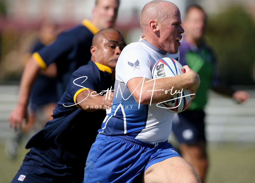 Match 8, Armed Forces Rugby Championship, 26 Oct 06, USAF (52) vs. USN (10)