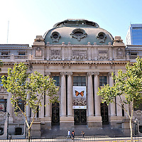 National Library of Chile in Santiago, Chile<br />
