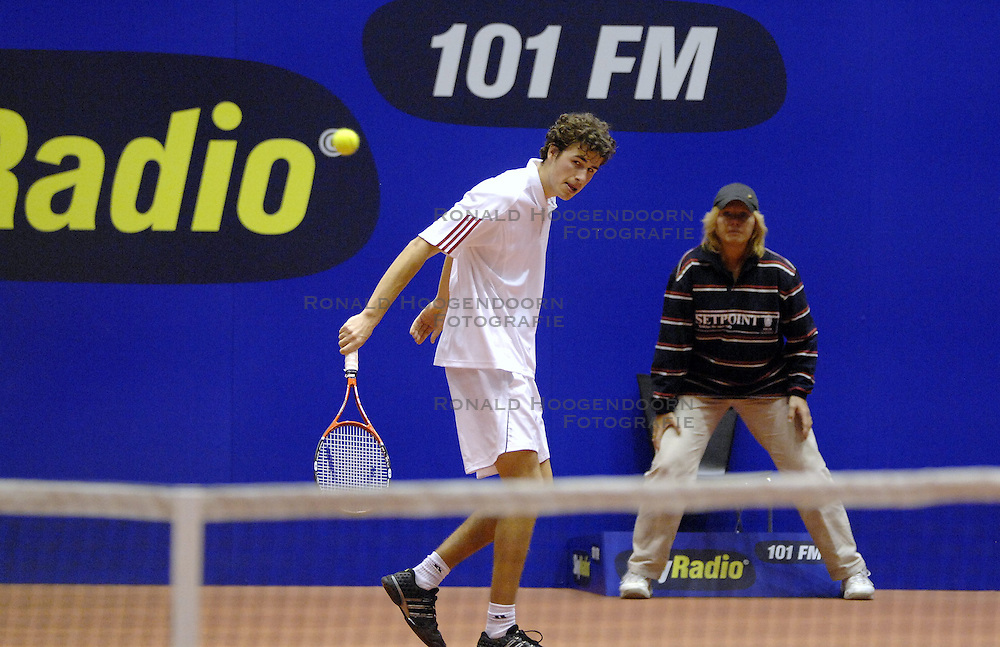 13-12-2006 TENNIS: SKY RADIO TENNIS MASTER: ROTTERDAM<br /> Robin Haase<br /> &copy;2006-WWW.FOTOHOOGENDOORN.NL