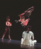 "Dance Theatre of Harlem in Michael Smuin's ""Song For Dead Warriors""<br />