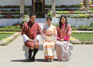Princess Mako Of Japan & Bhutan Royals At Flower Show