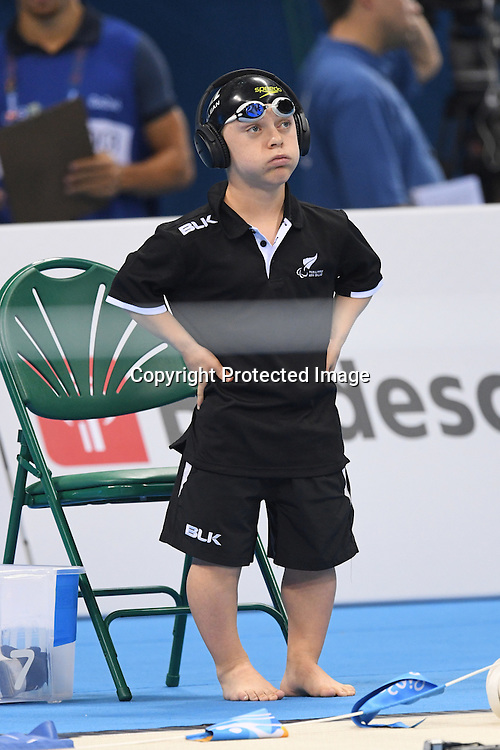 Hamish McLean (NZL), <br /> SEPTEMBER 13, 2016 - Swimming : <br /> Men's 400m Freestyle S6 Final <br /> at Olympic Aquatics Stadium<br /> during the Rio 2016 Paralympic Games in Rio de Janeiro, Brazil.<br /> (Photo by AFLO SPORT)