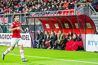 ALKMAAR - 04-12-2015, AZ - ADO Den Haag, AFAS Stadion, 0-1, sponsor bank.
