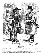 """Thrift. Peebles body (to townsman who was supposed to be in London on a visit). """"E - eh, Mac! Ye're sune hame again!"""" Mac. """"E - eh, it's just a ruinous place, that! Mun, a had na' been the-erre abune twa hoours when - BANG - went saxpence!!!"""""""