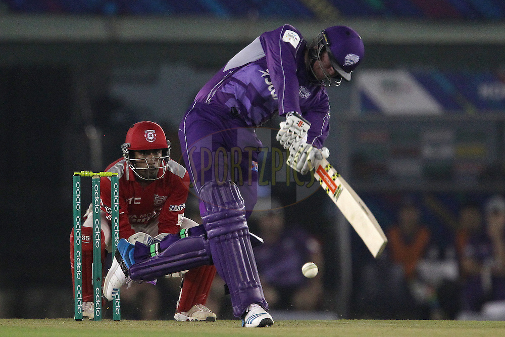 Ben DUNK of the Hobart Hurricanes  during match 2 of the Oppo Champions League Twenty20 between the Kings XI Punjab and the Hobart Hurricanes held at the Punjab Cricket Association Stadium, Mohali, India on the 18th September 2014<br /> <br /> Photo by:  Ron Gaunt / Sportzpics/ CLT20<br /> <br /> <br /> Image use is subject to the terms and conditions as laid out by the BCCI/ CLT20.  The terms and conditions can be downloaded here:<br /> <br /> http://sportzpics.photoshelter.com/gallery/CLT20-Image-Terms-and-Conditions-2014/G0000IfNJn535VPU/C0000QhhKadWcjYs