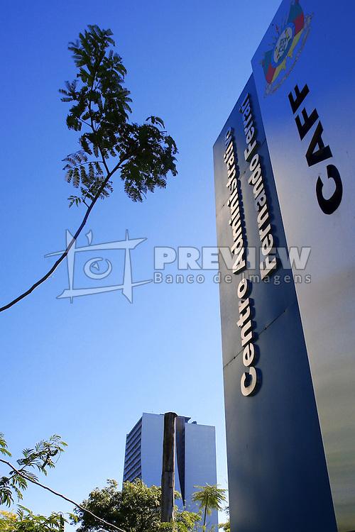 Prédio do CAFF - Centro Administrativo Fernando Ferrari, no centro de Porto Alegre. FOTO: Jefferson Bernardes/ Agência Preview