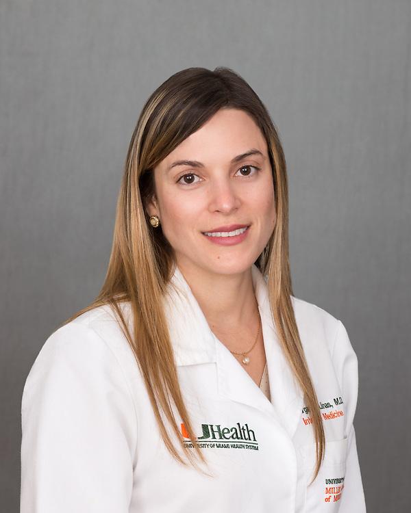 Margarita Llinas head shot - November 2014.  Photo by Gregg Pachkowski - Biomedical Communications.