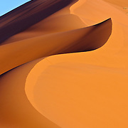 Sand dune in the Sahara Desert, Morocco
