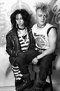 Steven and Sophie, High Wycombe, UK, 1980s