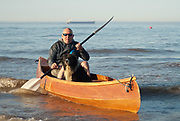 One Man, his Dog and their Canoe<br />