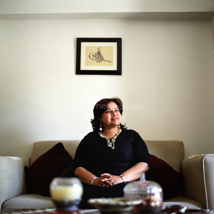 Mona Ibrahim Ali, 47, political activist and feminist, associate professor of the English at the American University in Cairo, Egypt.