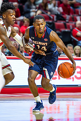 NORMAL, IL - November 06:  Nick Hopkins during a college basketball game between the ISU Redbirds and the Belmont Bruins on November 06 2019 at Redbird Arena in Normal, IL. (Photo by Alan Look)