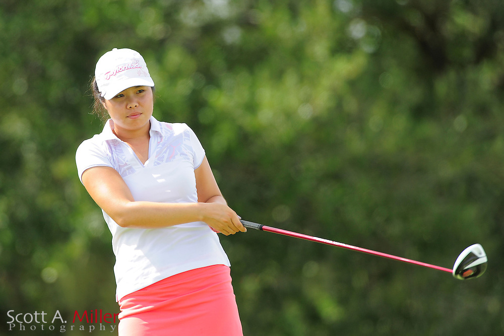 Esther Choe during the final round of the Daytona Beach Invitational  at LPGA International on Sep 30, 2012 in Daytona Beach, Florida...©2012 Scott A. Miller