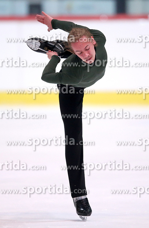 04.12.2015, Dom Sportova, Zagreb, CRO, ISU, Golden Spin of Zagreb, freies Programm, Herren, im Bild Tomi Pulkkinen, Finland. // during the 48th Golden Spin of Zagreb 2015 men Free Program of ISU at the Dom Sportova in Zagreb, Croatia on 2015/12/04. EXPA Pictures &copy; 2015, PhotoCredit: EXPA/ Pixsell/ Igor Kralj<br /> <br /> *****ATTENTION - for AUT, SLO, SUI, SWE, ITA, FRA only*****