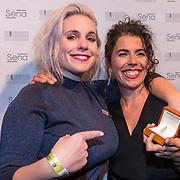 NLD/Amsterdam/20180917 - Uitreiking de Gouden Notenkraker 2018, Zilveren en Gouden Notenkraker winaressen Nina June en Magda Mendes