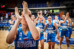 Nika Baric of Slovenia after the basketball match between Women National teams of Italy and Slovenia in Group phase of Women's Eurobasket 2019, on June 30, 2019 in Sports Center Cair, Nis, Serbia. Photo by Vid Ponikvar / Sportida