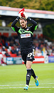Picture by David Horn/Focus Images Ltd +44 7545 970036<br /> 12/10/2013<br /> David Button of Brentford starts his 100th Football League appearance during the Sky Bet League 1 match at the Lamex Stadium, Stevenage.